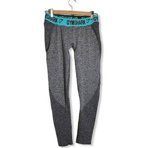 Gymshark Flex Low Rise Leggings Heathered Grey